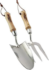 Garden Hand Fork and Trowel